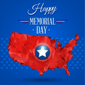 © Kgbobo | Dreamstime.com - Blue Happy Memorial Day Photo