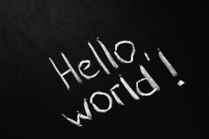 © Nvelichko | Dreamstime.com - Hello, World! Photo