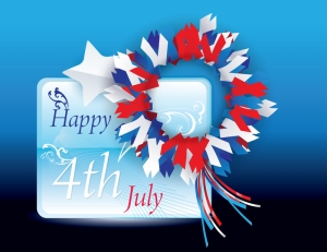 © Awenart | Dreamstime.com - Happy 4th Of July Vector Greeting Card Very Suitab Photo