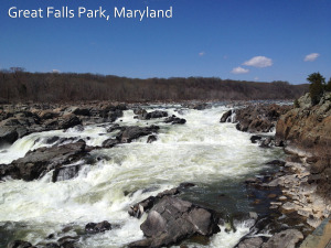 great falls park maryland waterfalls