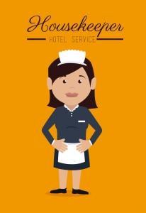dreamstime_s_48685237 - Hotel Housekeeper