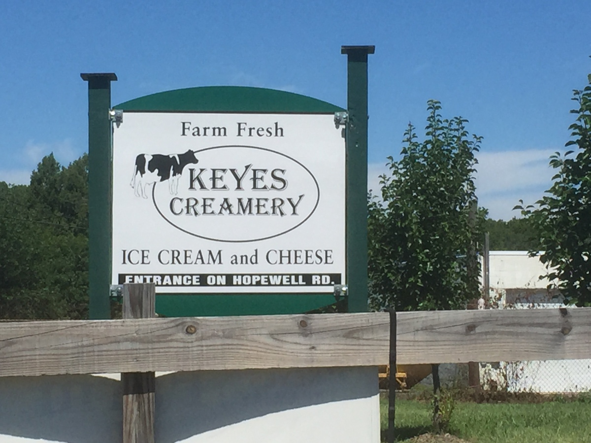 Keyes Creamery – 6th Stop on the 2015 Maryland Ice Cream Trail
