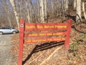 Scotts Run Sign